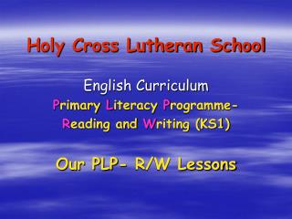 Holy Cross Lutheran School