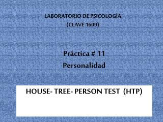 Pr ctica  11  Personalidad