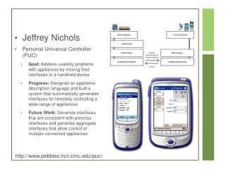 Jeffrey Nichols Personal Universal Controller (PUC)