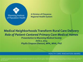 Medical Neighborhoods Transform Rural Care Delivery