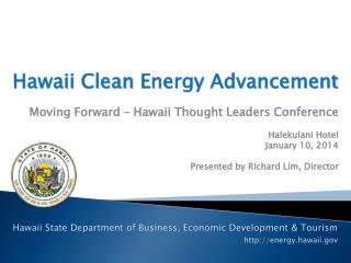 Hawaii Clean  Energy Advancement