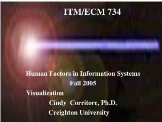 ITM/ECM 734