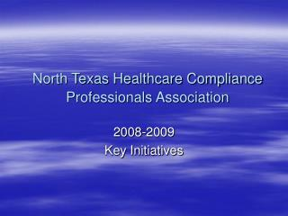 North Texas Healthcare Compliance Professionals Association