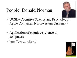 People: Donald Norman