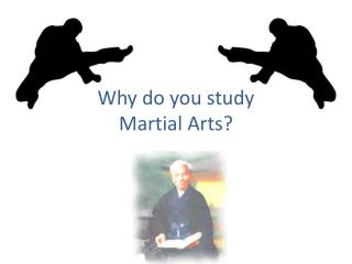Why do you train martial arts?