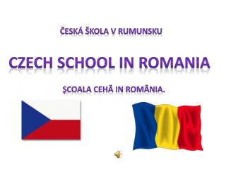 Czech school in Romania