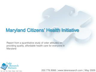 Maryland Citizens' Health Initiative