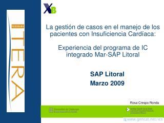 SAP Litoral Marzo 2009