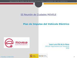 III Reunión de Ciudades MOVELE