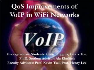 QoS Improvements of VoIP in WiFi Networks