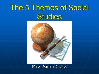 The 5 Themes of Social Studies