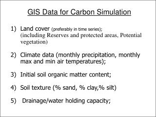 Land cover  (preferably in time series);