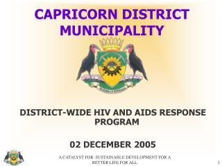 CAPRICORN DISTRICT MUNICIPALITY