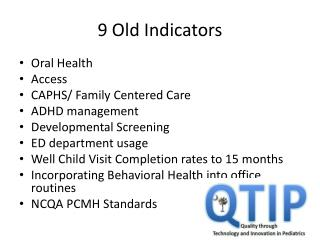 9 Old Indicators