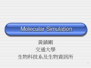 Molecular Simulation