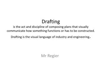 Mr Regier