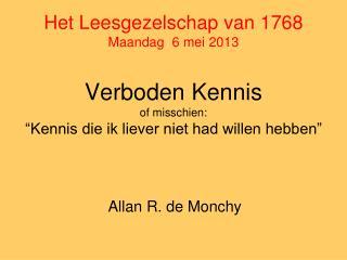 Allan R. de Monchy