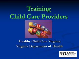 Training  Child Care Providers