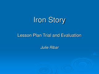 Iron Story