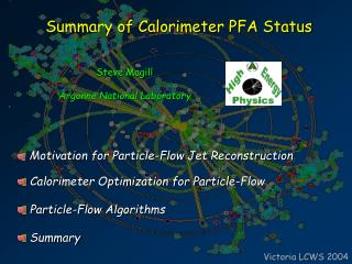Summary of Calorimeter PFA Status
