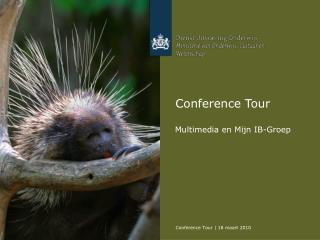 Conference Tour