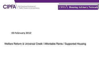CIPFA Housing Advisory Network