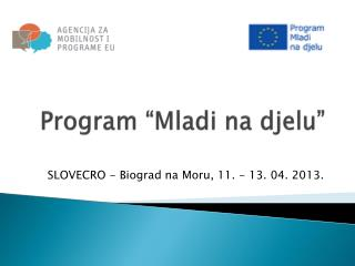 "Program ""Mladi na djelu"""