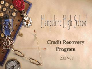 Credit Recovery Program