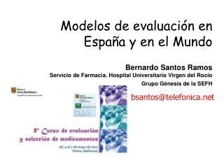 Modelos de evaluación en España y en el Mundo