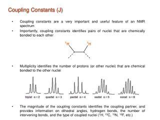 Coupling Constants (J)