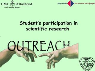 Student's participation in scientific research