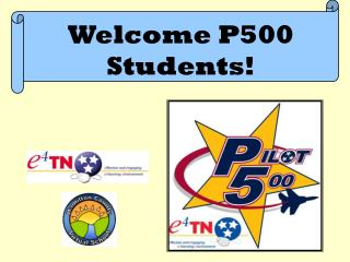 Welcome P500  Students!