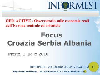 OER  ACTIVE - Osservatorio sulle economie reali dell'Europa centrale ed orientale