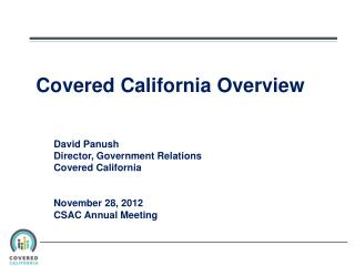 Covered California Overview