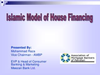 Islamic Model of House Financing