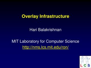 Overlay Infrastructure