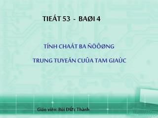TIEÁT 53  -  BAØI 4