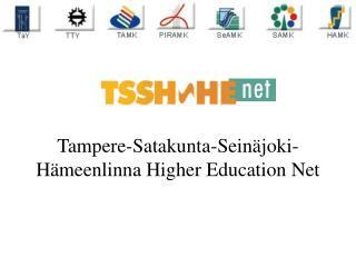 Tampere-Satakunta-Seinäjoki-Hämeenlinna Higher Education Net