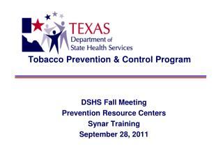 Tobacco Prevention & Control Program
