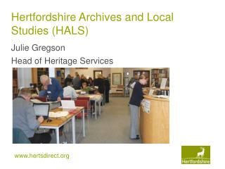 Hertfordshire Archives and Local Studies (HALS)