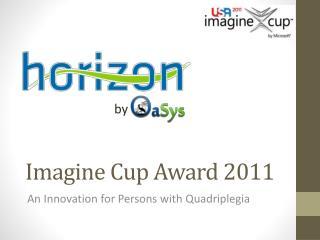 Imagine Cup Award  2011