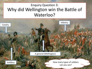 Enquiry Question 3: Why did Wellington win the Battle of Waterloo?