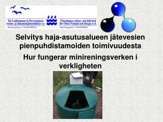 Avloppsvattenförordningen