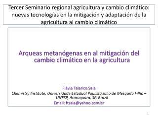 Arqueas metanógenas  en al  mitigación  del  cambio climático  en la  agricultura