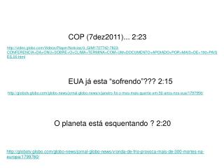 COP (7dez2011)... 2:23
