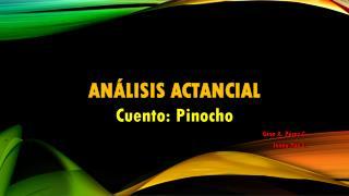 Análisis actancial