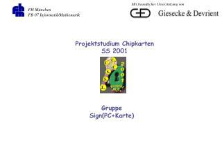 FH München FB 07 Informatik/Mathematik