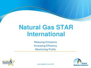 Natural Gas STAR International