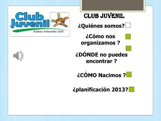 CLUB JUVENIL