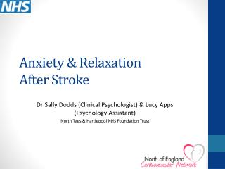 Anxiety & Relaxation After Stroke
